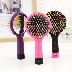Lazy Corner - Hair Brush with Mirror