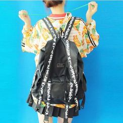 Bags 'n Sacks - Lettering Strap Backpack