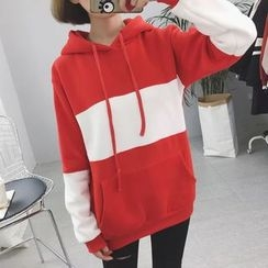 Rocho - Color Block Long Hoodie