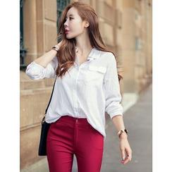 GUMZZI - Cotton Blend Shirt
