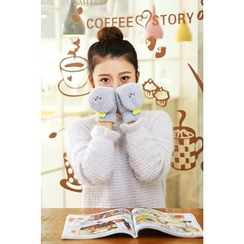Magic Beauty - Cartoon Embroidered Gloves