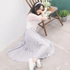 Tokyo Fashion - Pleated Chiffon Skirt