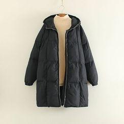 Mushi - Hooded Padded Coat