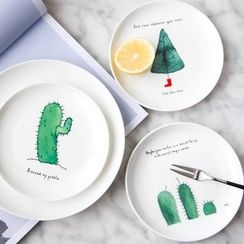 Modern Wife - Hand Painting Ceramic Plate