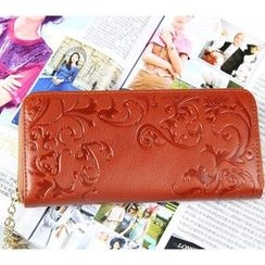 Janice - Genuine Leather Long Wallet