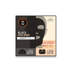 SCINIC - Black Dual Mask (Wrinkle Energy) 1pc
