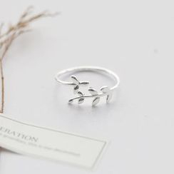 Love Generation - Leaves Sterling Silver Open Ring