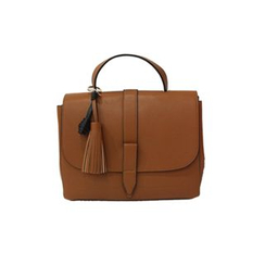 DABAGIRL - Tasseled Faux-Leather Satchel