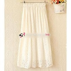 Ringnor - Lace Maxi Skirt