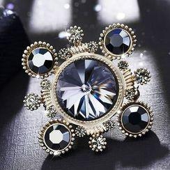 STYLEJING - Crystal Vintage Brooch