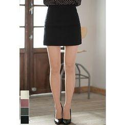 MyFiona - Cutout-Side Zip-Back Mini Skirt