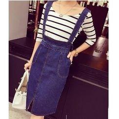 Oaksa - Denim Jumper Skirt