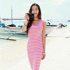 REDOPIN - Stripe Tank Dress