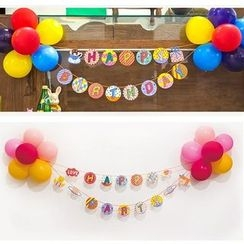 OH.LEELY - Birthday Party Decoration Kit