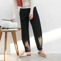 Haco Studio - Gather-Cuff Baggy Pants