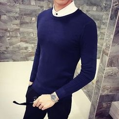 MEING - Long-Sleeve Knit Top