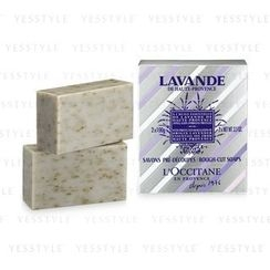 L'Occitane - Lavender Rough Cut Soaps