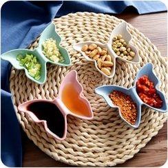 Eggshell Houseware - Butterfly Sauce Dish
