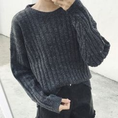 Dute - Ribbed Sweater
