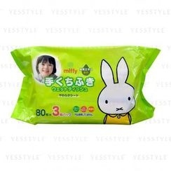 LEC - Water 99.9% Miffy Baby Wipes