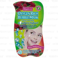 Beauty Formulas - Strawberry Yoghurt Oxygen Rich Bubble Mask