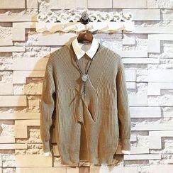 Sundipy - Cable-Knit Sweater