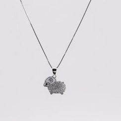 Love Generation - Sterling Silver Sheep Necklace