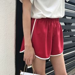 Dasim - Piped Sport Shorts