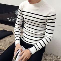 Orizzon - Ribbed Striped Sweater
