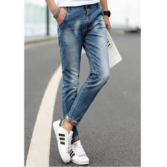 JORZ - Slim Fit Washed Jeans
