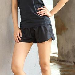 Wheatfield - Plain Sport Shorts