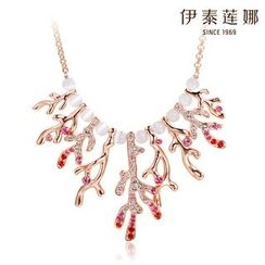 Italina - Swarovski Elements Coral Necklace