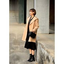 ssongbyssong - Open-Front Hooded Coat