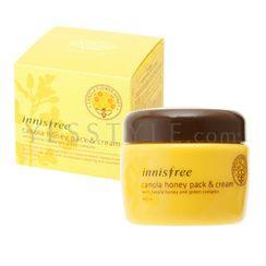Innisfree - Canola Honey Pack & Cream