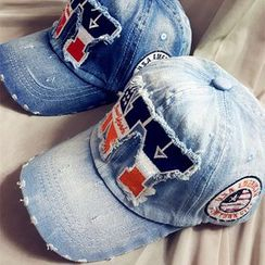 LIONPISCES - NY水洗仿舊牛仔帽