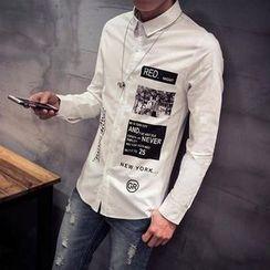 Riverland - Printed Long-Sleeve Shirt