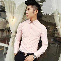Fisen - Long-Sleeve Metal Tip Shirt