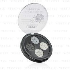 Lavera - Beautiful Mineral Eyeshadow Quattro - # 01 Smoky Grey