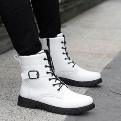 COUSO - Buckled Mid-calf Boots
