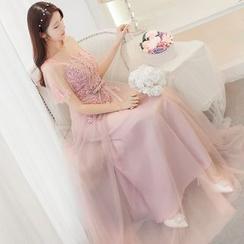 minako - A-Line Evening Gown (Various Designs)