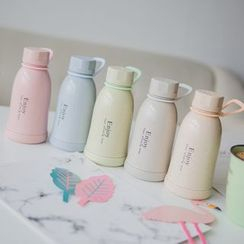 Wild Peach - Lettering Water Bottle