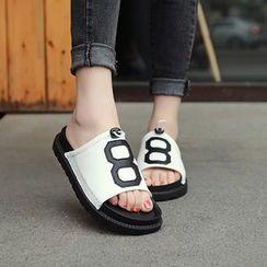 Shoetown - Slide Sandals