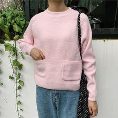 Bloombloom - Dip Back Knit Top