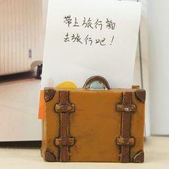 Tivi Boutique - Suitcase Memo Clip