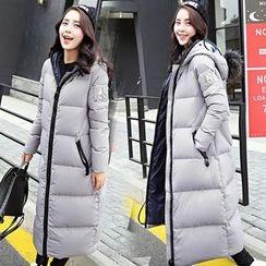 Sienne - Hooded Padded Long Coat
