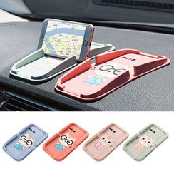 Home Simply - Cat-Printed Car Use Phone Stand Pad