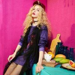 ELF SACK - Mock Two-Piece Dress
