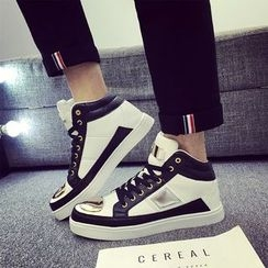 HANO - Metal Tipped Lace Up Sneakers