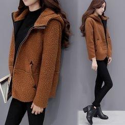 Romantica - Hooded Zip Jacket