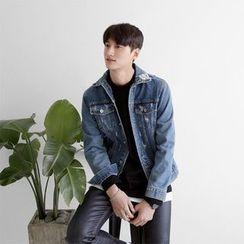 Seoul Homme - Distressed Denim Jacket